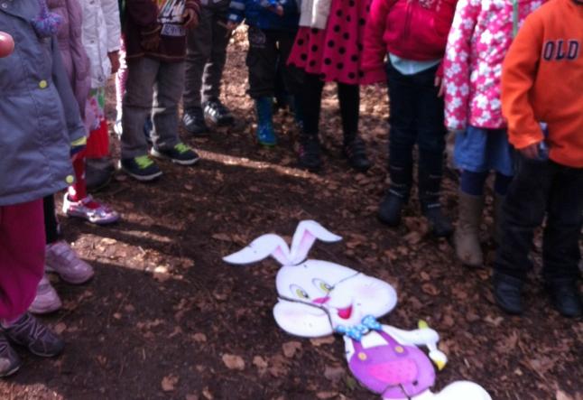 Easter bunny jigsaw