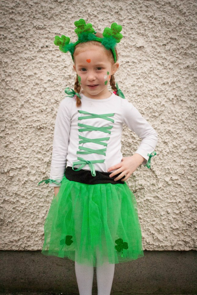 St Patricksday girl's top